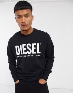 Czarna bluza Diesel z dresówki