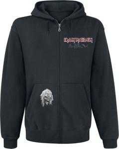 Granatowa bluza Iron Maiden w młodzieżowym stylu