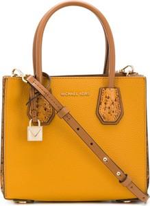 Żółta torebka Michael Kors do ręki