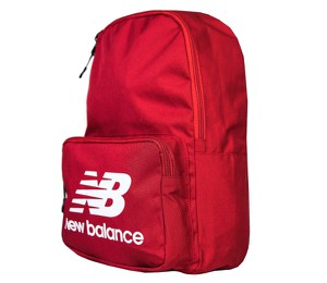 Czerwony plecak męski New Balance