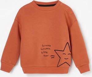 Pomarańczowa bluza dziecięca Reserved dla chłopców