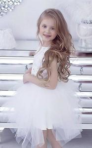 Sukienka dziewczęca Mała Mi