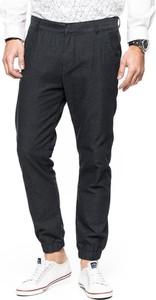 Granatowe spodnie Tom Tailor