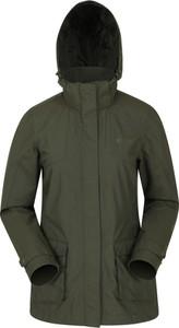 Zielona kurtka Mountain Warehouse w stylu casual z tkaniny