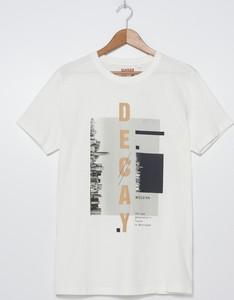 T-shirt House z krótkim rękawem z bawełny