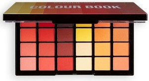 Makeup Revolution MUR Colour Book CB03 48 Shadows Palette Paleta cieni do powiek
