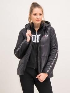 Czarna kurtka Fila w stylu casual krótka