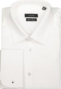 Koszula Lavard z bawełny z klasycznym kołnierzykiem