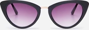 Fioletowe okulary damskie House