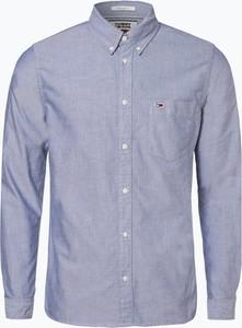 Koszula Tommy Jeans z długim rękawem w stylu casual z tkaniny