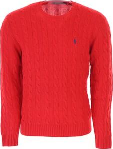 Czerwony sweter Ralph Lauren