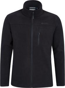 Czarna bluza Mountain Warehouse w stylu casual z polaru