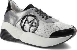 Buty sportowe Massimo Poli sznurowane z płaską podeszwą