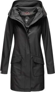 Czarna kurtka Navahoo długa w stylu casual