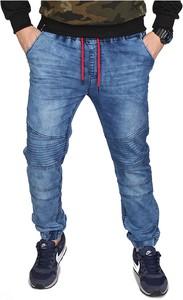 Niebieskie jeansy RED FIREBALL z jeansu