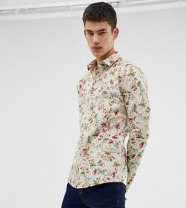 Koszula Asos Design z nadrukiem z długim rękawem