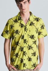 132d6bba8a957c Koszula Cropp. 80%. Koszula Cropp z krótkim rękawem w młodzieżowym stylu