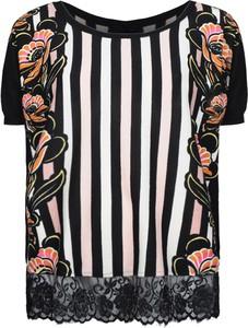 Bluzka Twinset z krótkim rękawem z okrągłym dekoltem