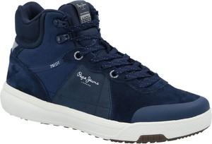 Pepe Jeans London Sneakersy SLATE PRO | z dodatkiem skóry