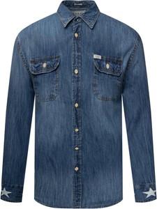 Niebieska koszula Guess