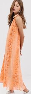 Sukienka Mango bez rękawów maxi