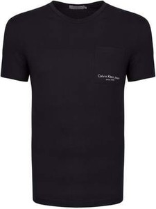 T-shirt Calvin Klein w stylu casual z dżerseju