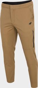 Brązowe spodnie sportowe 4F