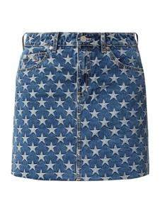 Niebieska spódnica Tommy Jeans