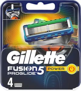 Gillette, Fusion, wymienne ostrza do maszynki do golenia, 4 szt.