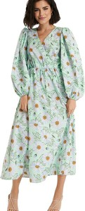 Zielona sukienka NA-KD