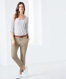Spodnie Tchibo z tkaniny w stylu casual