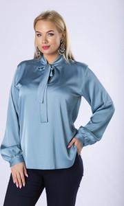 Niebieska koszula Ptakmoda.com