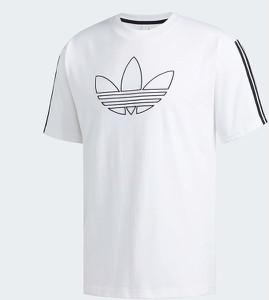 T-shirt Adidas Originals w sportowym stylu z bawełny
