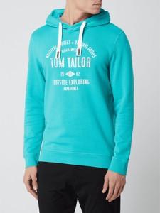 Bluza Tom Tailor w młodzieżowym stylu z bawełny