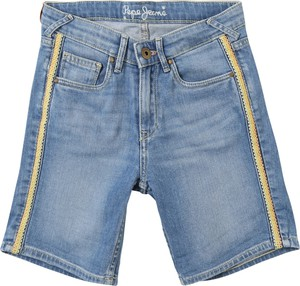 Niebieskie spodenki dziecięce Pepe Jeans z jeansu