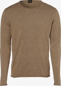 Brązowy sweter Hugo Boss z kaszmiru