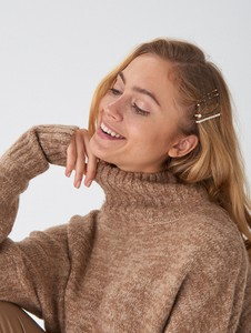 Brązowy sweter House