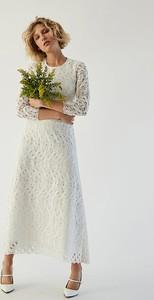 Sukienka Ivy & Oak maxi z okrągłym dekoltem