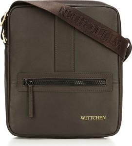 Brązowa torebka Wittchen na ramię mała matowa