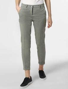 Zielone spodnie Cambio w stylu klasycznym