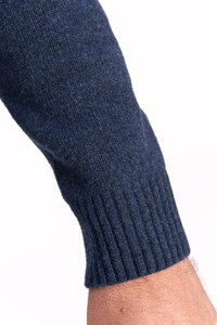 Sweter Lanieri Fashion z wełny w młodzieżowym stylu