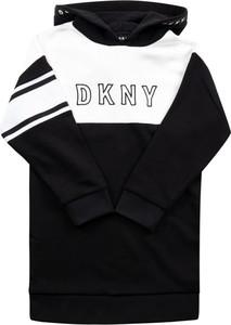 Czarna bluza dziecięca DKNY