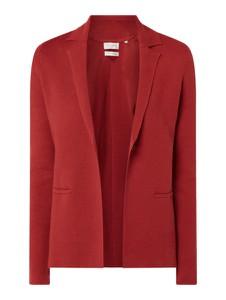 Czerwony sweter Christian Berg Women z dzianiny