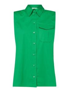 Bluzka Calvin Klein bez rękawów z bawełny