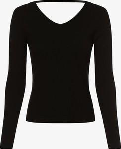Czarny t-shirt Noisy May z dekoltem w kształcie litery v