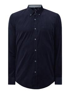 Granatowa koszula Lerros z bawełny