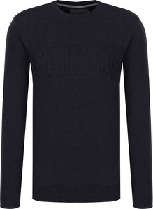 Bluza Calvin Klein w street stylu z dzianiny