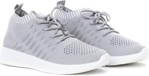 Buty sportowe Royalfashion.pl sznurowane z płaską podeszwą