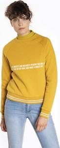 Bluza Gate w młodzieżowym stylu krótka z bawełny