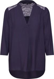 Niebieska bluzka Vero Moda z długim rękawem